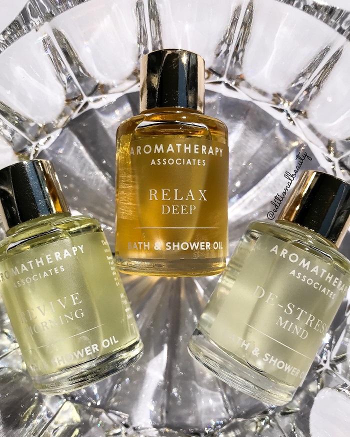Aromatherapy Associates Essential Bath & Shower Oils Review