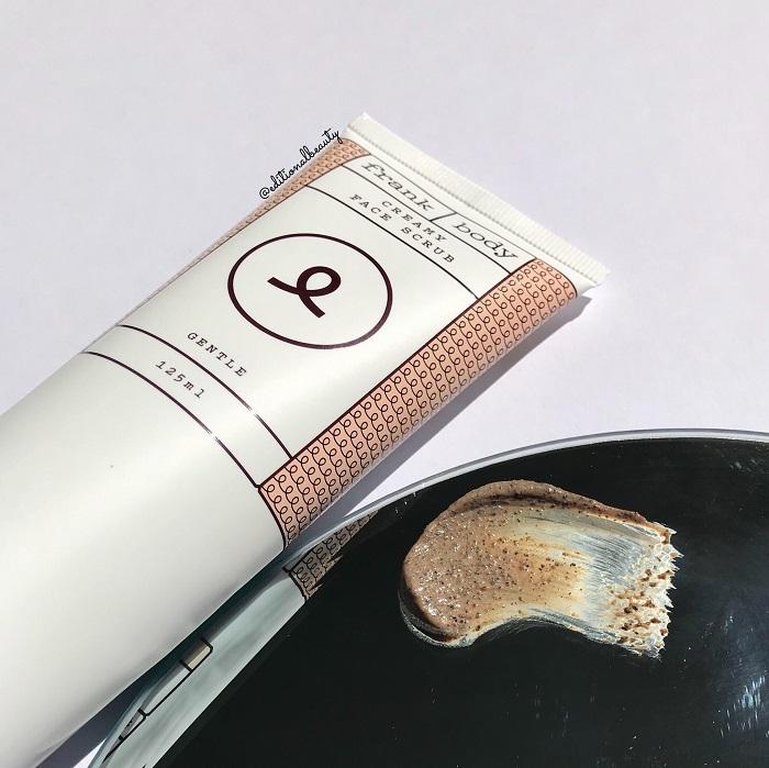 Frank Body Creamy Face Scrub Review & Textures