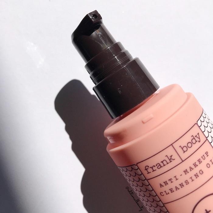 Frank Body Anti-Makeup Cleansing Oil Review (Dispenser)