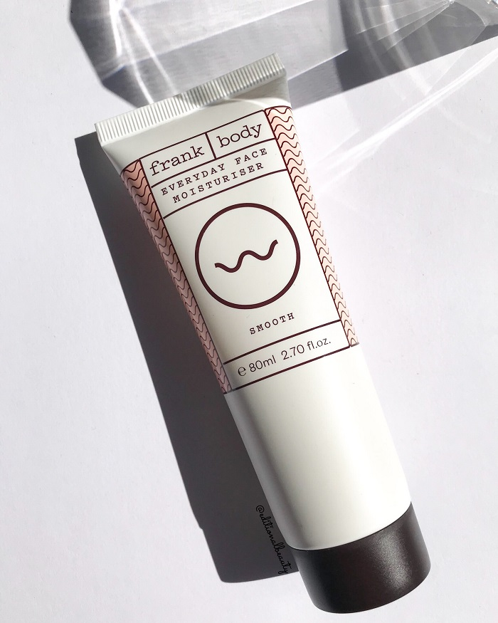Frank Body Everyday Face Moisturiser Review (Front Packaging)