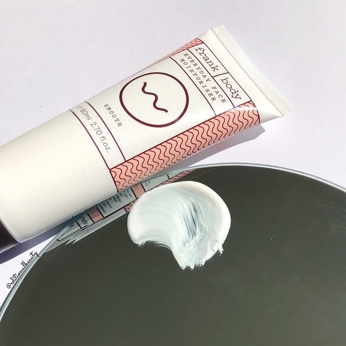 Frank Body Everyday Face Moisturiser Review (Texture)