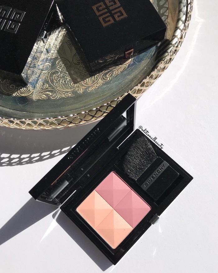 Givenchy Prisme Blush Review & Swatches (Romantica)